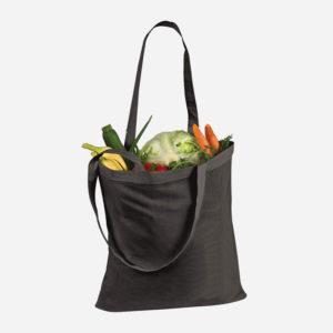 Platnena vrećica za kupovinu - crna