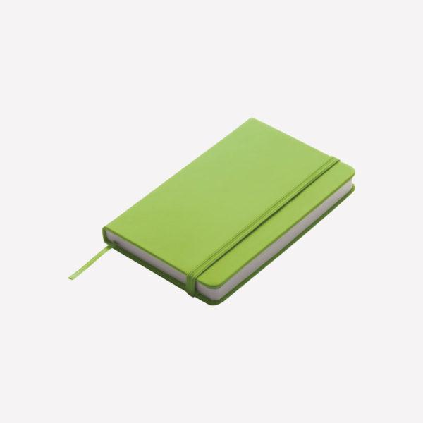 Notes A6 Lubeck – svijetlo zeleni