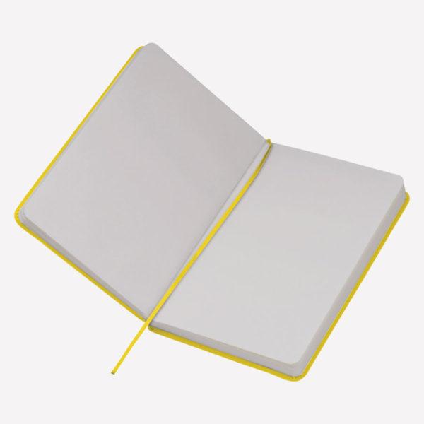 Notes A5 Kiel – žuti otvoreni