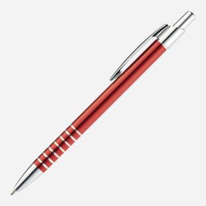 Metalna olovka Itabela - crvena