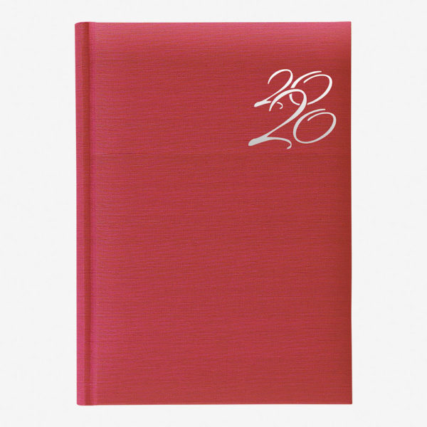 Rokovnik India A4 2020 – crveni