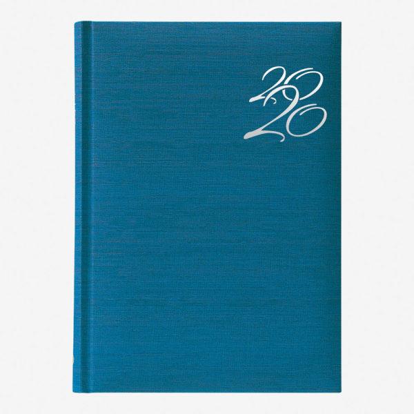 Rokovnik India A4 2020 – tirkizno plavi