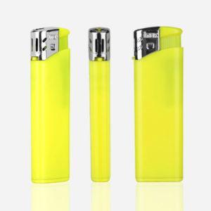Upaljač Flame - neon žuti