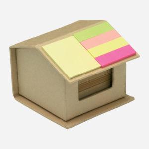Blok samoljepljivi + zastavice - Recyclopad