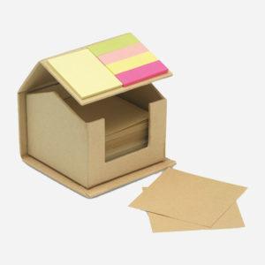 Blok samoljepljivi + zastavice - Recyclopad otvoreni