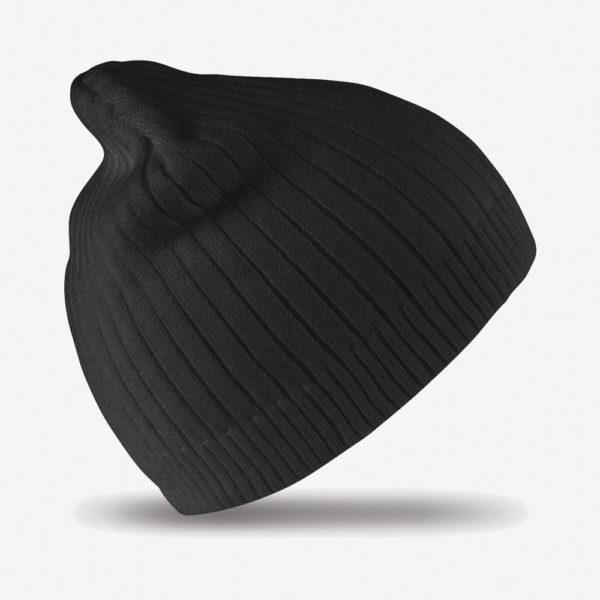 Kapa zimska Double Knit – crna
