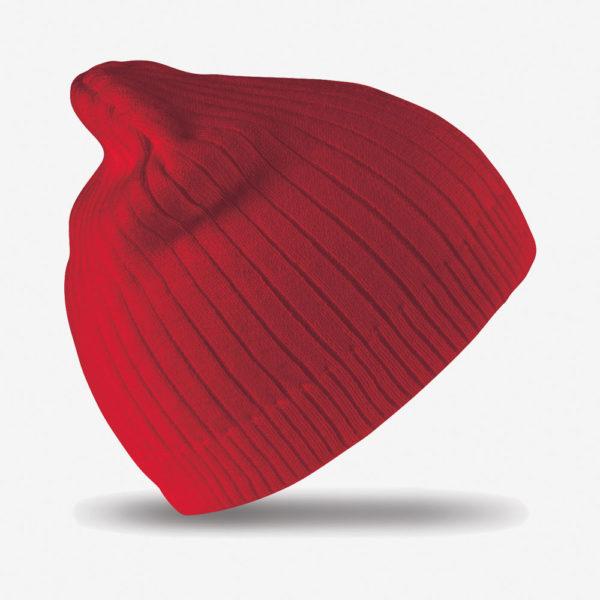 Kapa zimska Double Knit – crvena