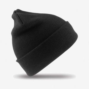 Kapa zimska Woolly - crna