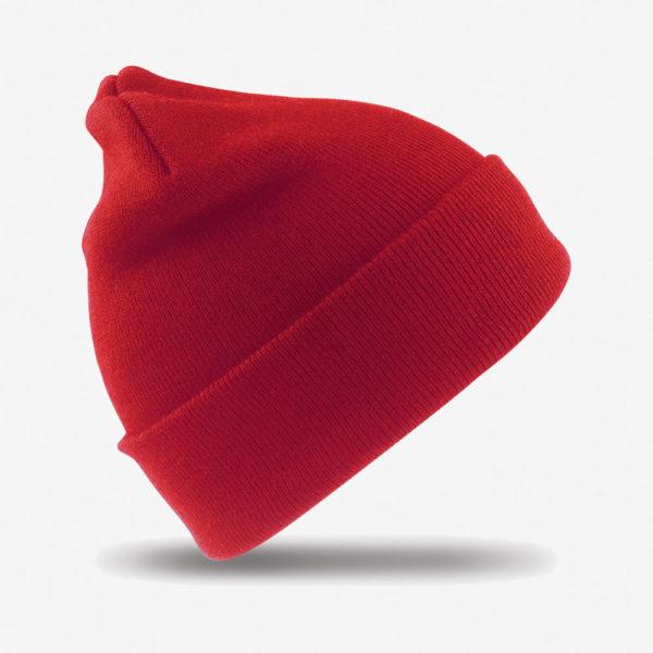 Kapa zimska Woolly - crvena
