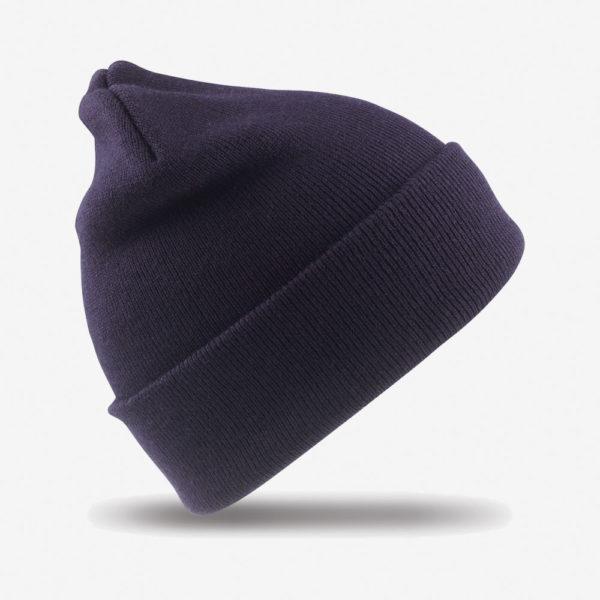 Kapa zimska Woolly - tamno plava