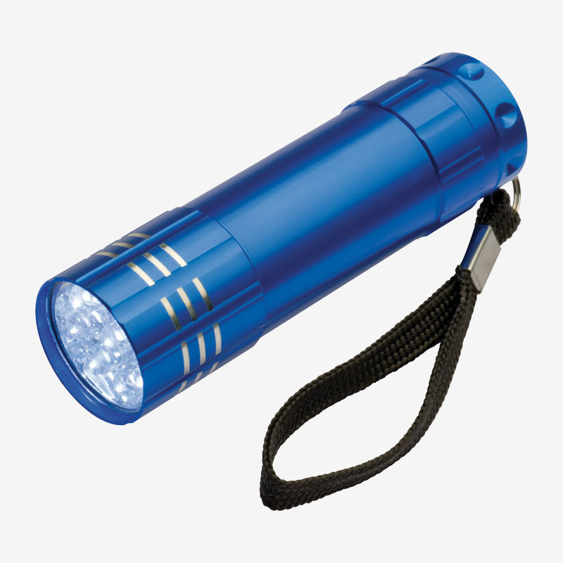 Ručna LED svjetiljka Montargis - plava