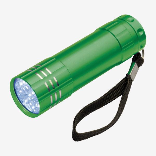 Ručna LED svjetiljka Montargis – zelena