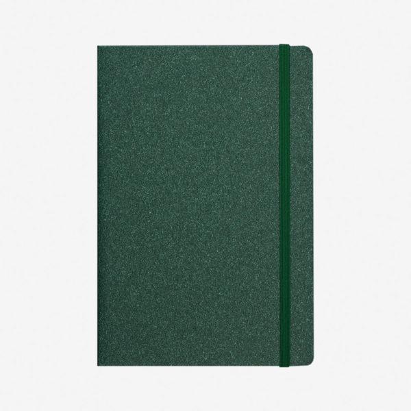 Notes A5 Eco – zeleni