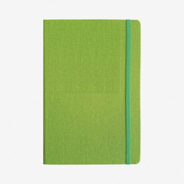 Notes A5 Elegant - kivi zeleni