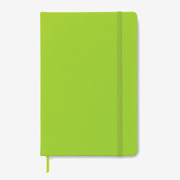 Notes na crte A5 – svijetlo zeleni