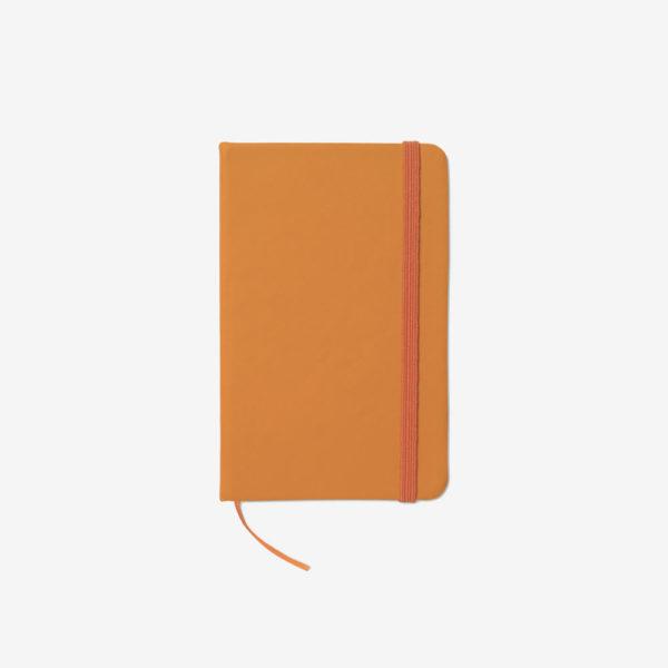 Notes na crte A6 - narančasti
