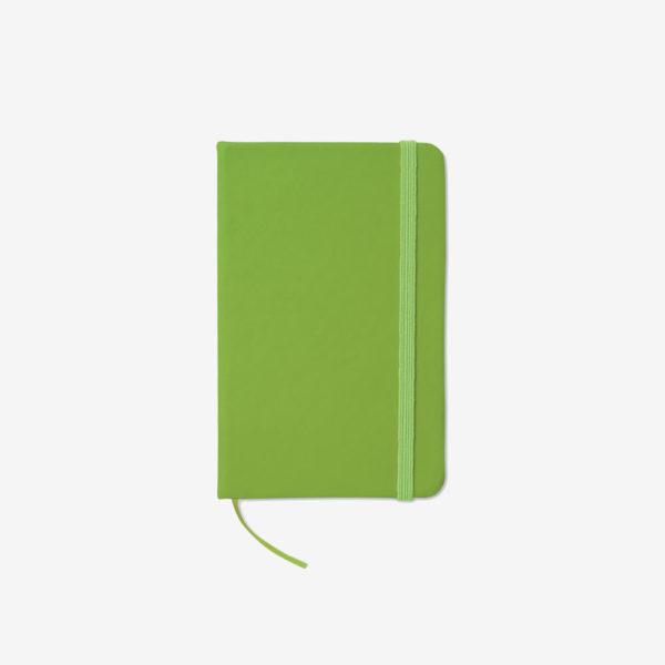Notes na crte A6 - svijetlo zeleni