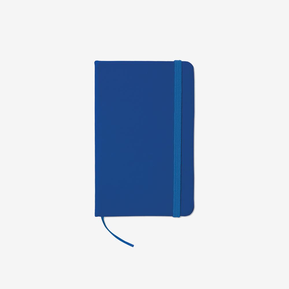 Notes na crte A6 - tamno plavi
