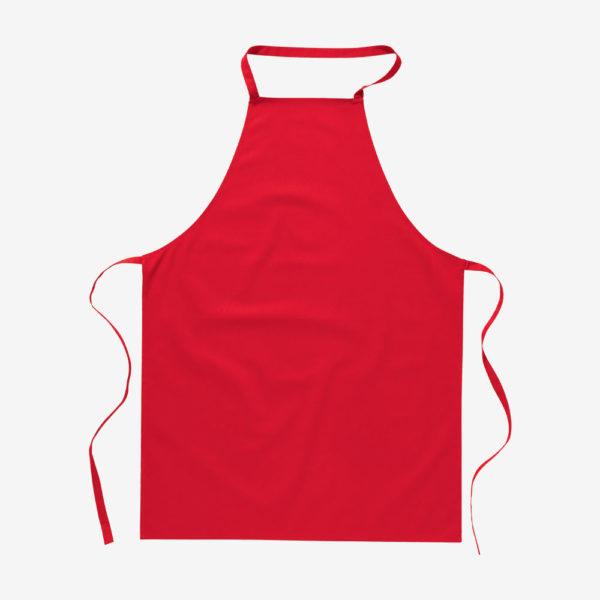 Pregača za kuhanje Kitab - crvena