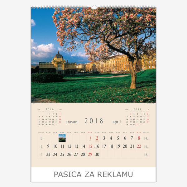 Ekskluzivni kalendar The Beauty of Croatia 2018 – travanj