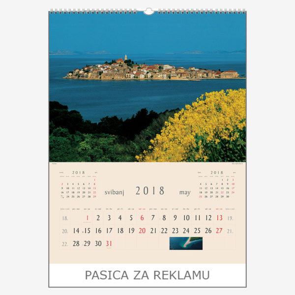 Ekskluzivni kalendar The Beauty of Croatia 2018 – svibanj