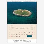 Ekskluzivni kalendar The Beauty of Croatia 2018 – lipanj