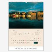 Ekskluzivni kalendar The Beauty of Croatia 2018 – srpanj