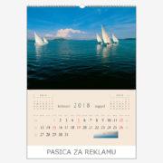 Ekskluzivni kalendar The Beauty of Croatia 2018 – kolovoz