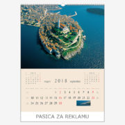 Ekskluzivni kalendar The Beauty of Croatia 2018 – rujan