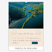 Ekskluzivni kalendar The Beauty of Croatia 2018 – listopad