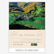 Ekskluzivni kalendar The Beauty of Croatia 2018 – studeni