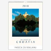 Ekskluzivni kalendar The Beauty of Croatia 2018