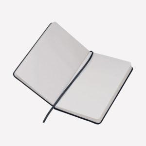 Notes A6 Lubeck - crni otvoreni