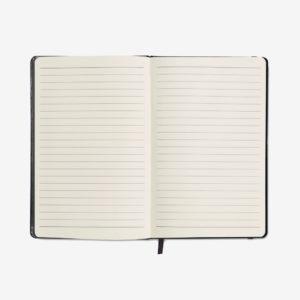 Notes na crte - crni otvoreni