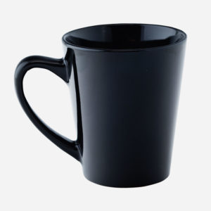 Šalica u boji - crna