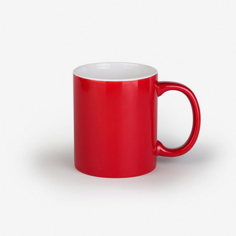 Šalica Barton - crveno/bijela