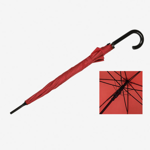 Kišobran Classic - crveni zatvoreni