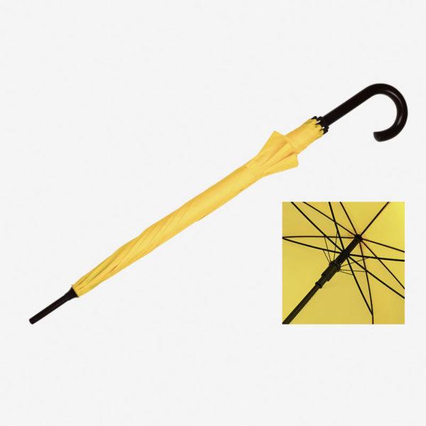 Kišobran Classic - žuti zatvoreni