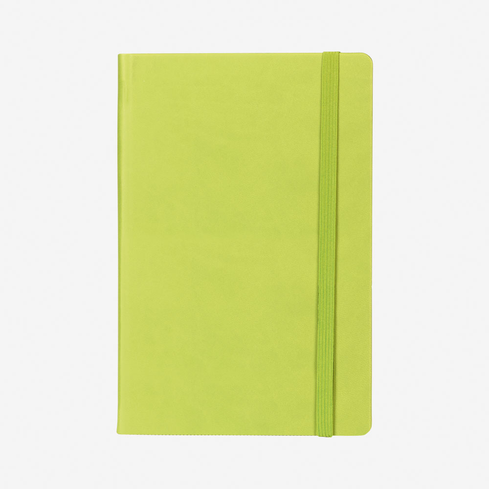 Notes A5 Modest - kivi zeleni