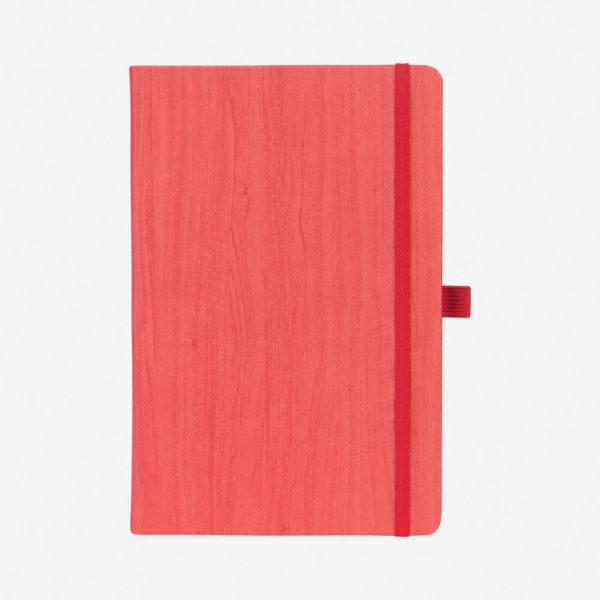 Notes A5 Woody – crveni