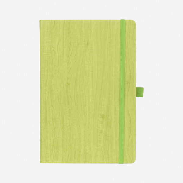 Notes A5 Woody – kivi zeleni