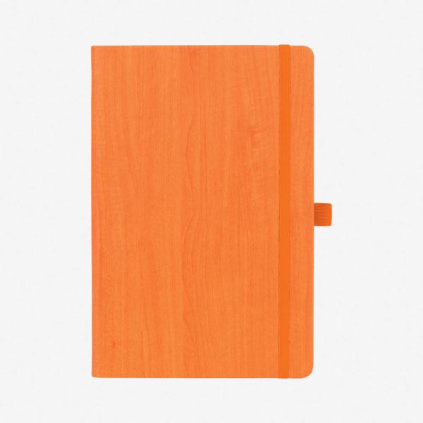 Notes A5 Woody – narančasti