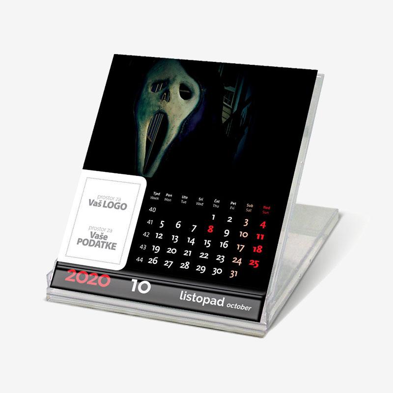 Stolni CD kalendar Horror 2020