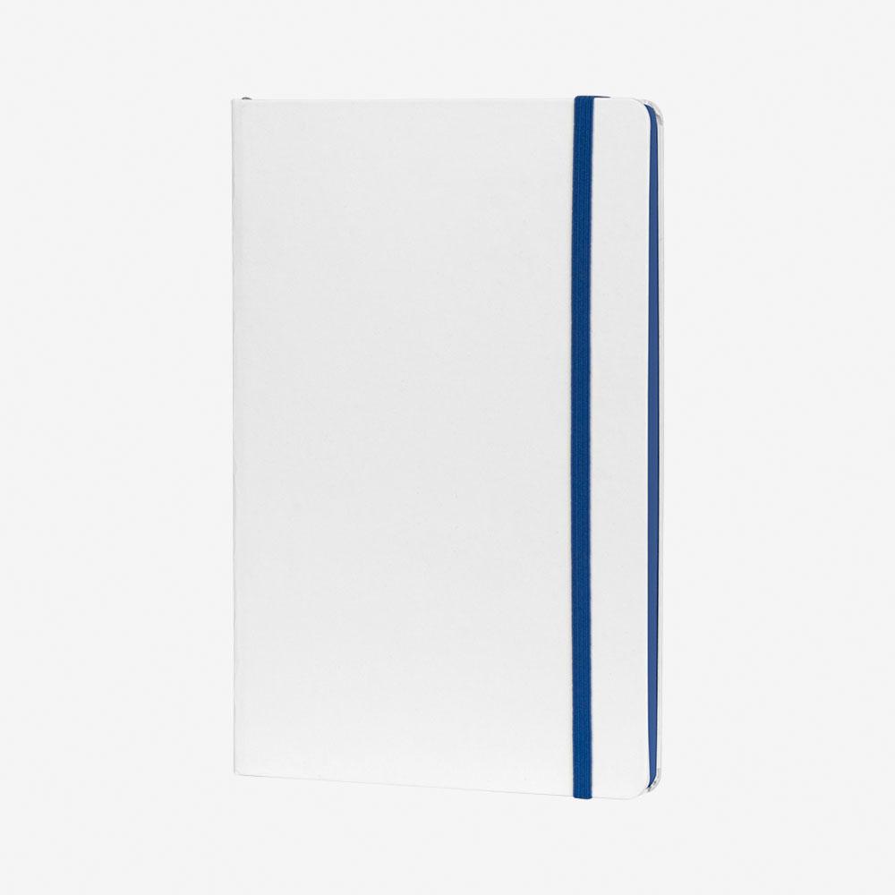 Notes A5 Flux White - kraljevsko plavi