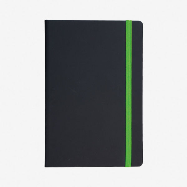 Notes A5 Flux – zeleni