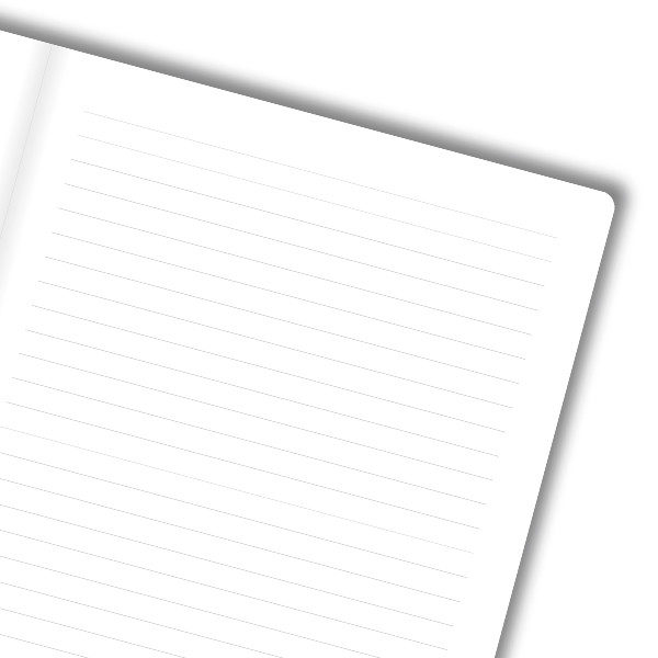 crtovlje - bijeli papir