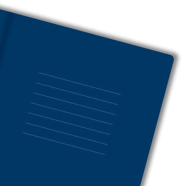 predlist – kraljevsko plavi papir