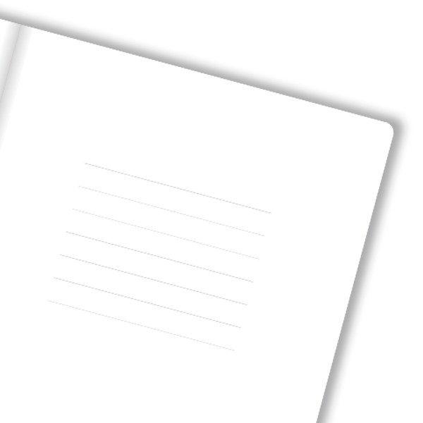 predlist - bijeli papir