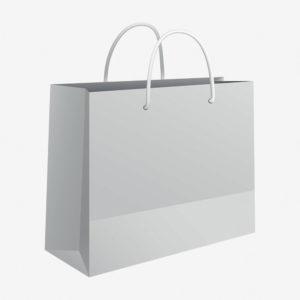 Vrećica 50x37x12 sjajna - bijela