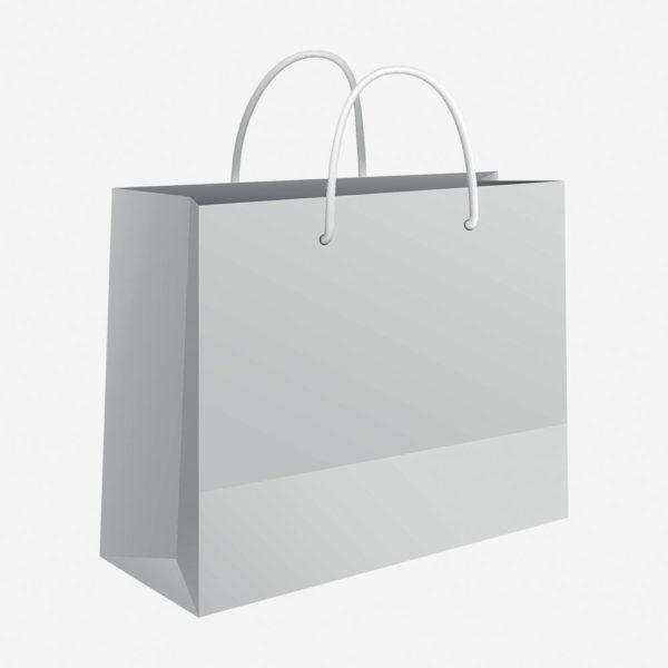 Vrećica 50x37x12 sjajna – bijela